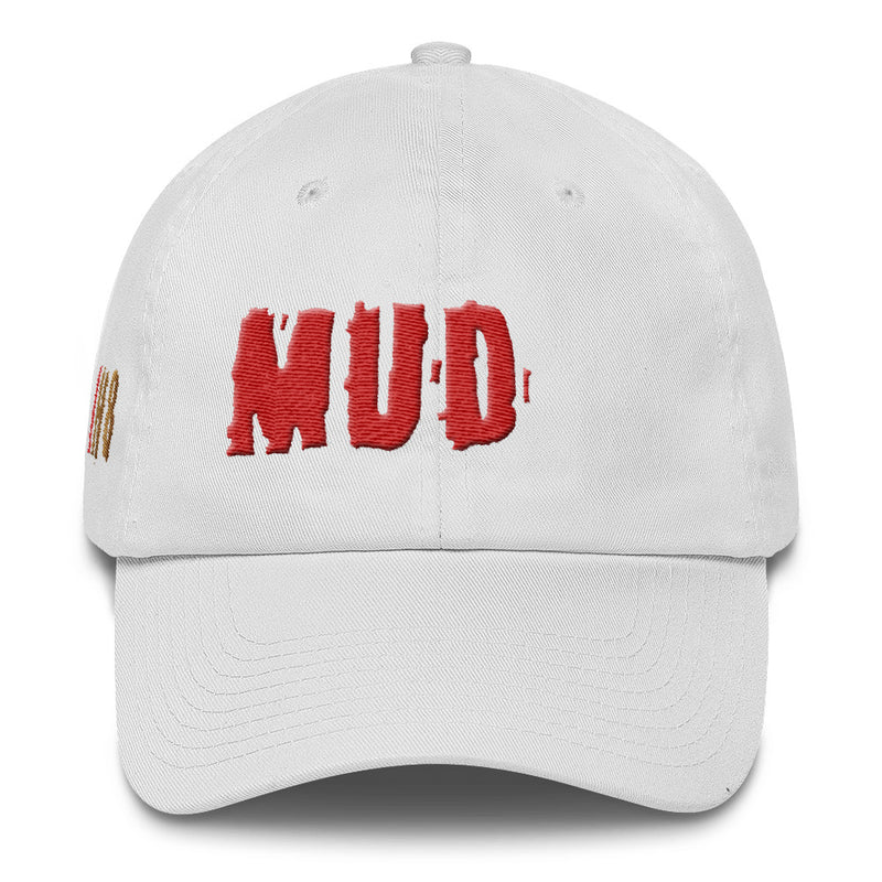 IH8MUD Premium Unstructured Embroidered Cotton Cap by Reefmonkey (Made in the USA)