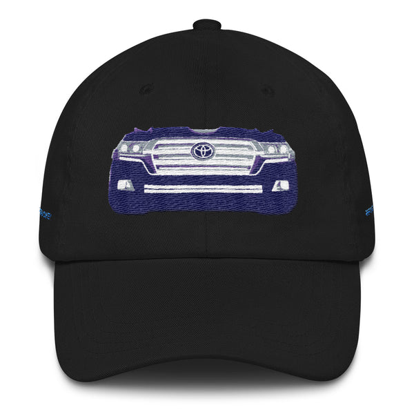 200 Series Toyota Land Cruiser Premium Embroidered Dad hat by Reefmonkey