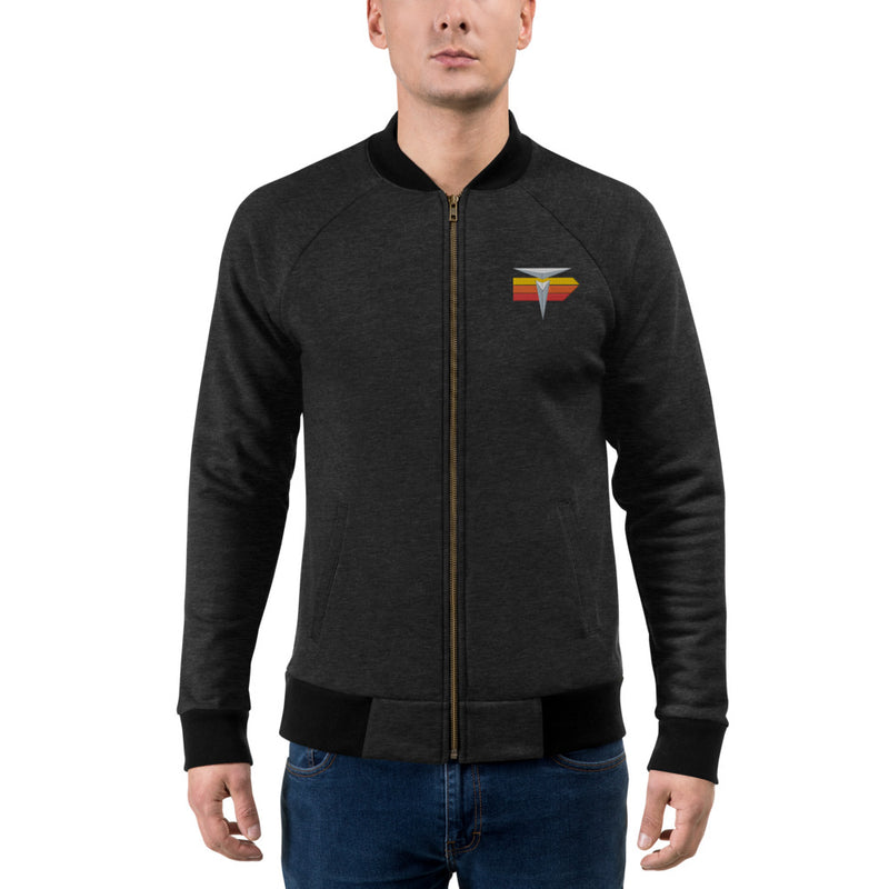 Ivan T Toyota Fleece Jacket Embroidered Toyota Bomber Jacket