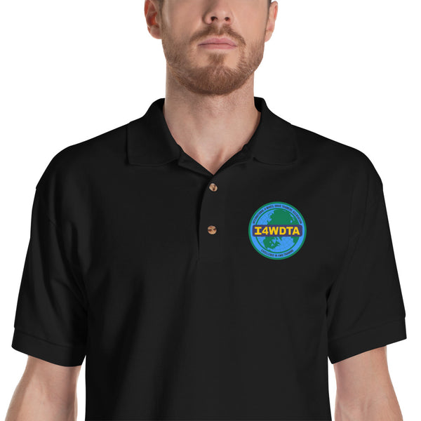 I4WDTA Embroidered Polo Shirt