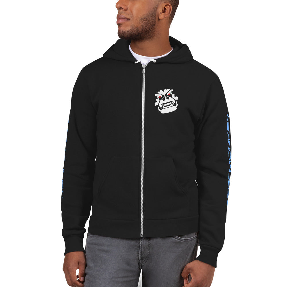 Angry Monkey American Apparel Flex Fleece Hoodie Sweater by Reefmonkey