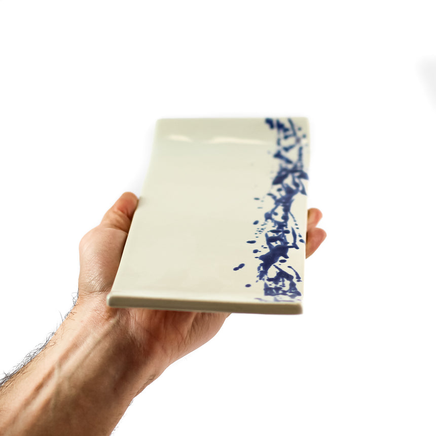 Rectangle Sushi plate, SPLASH