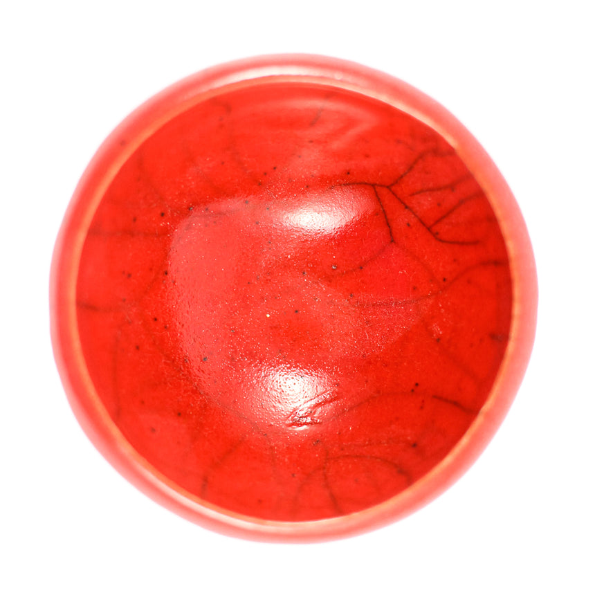 Miniature Red Bowl