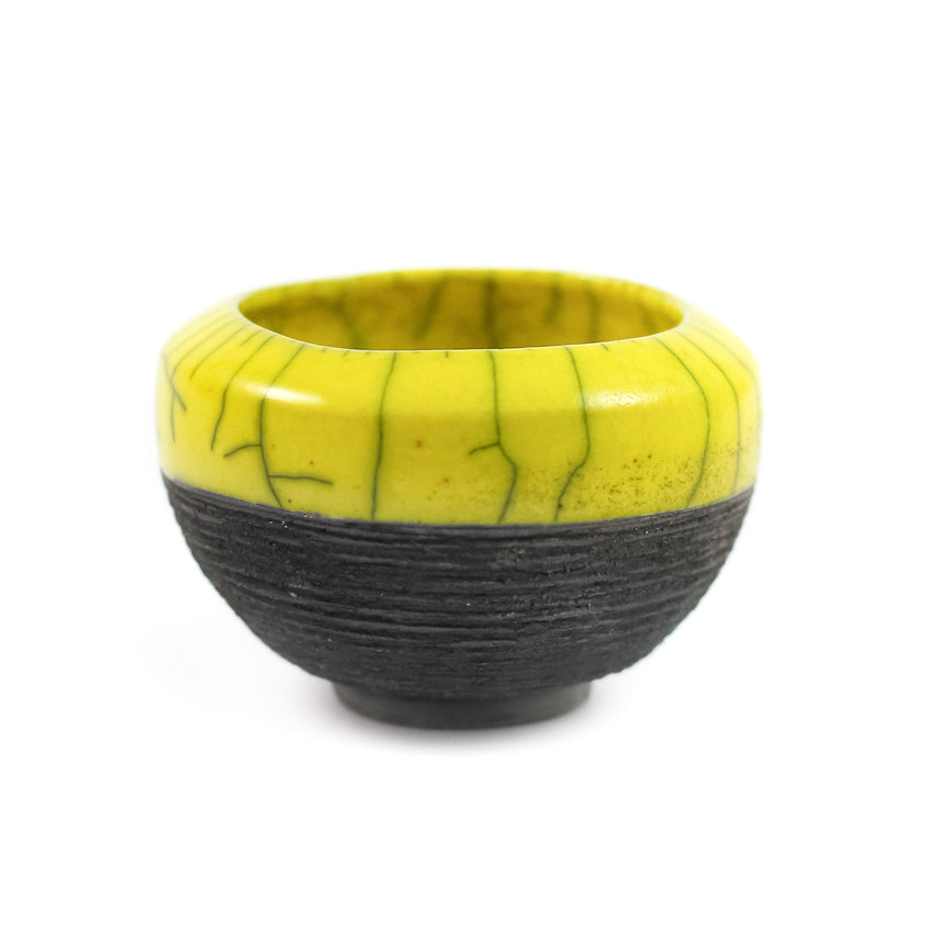 Miniature Yellow Bowl
