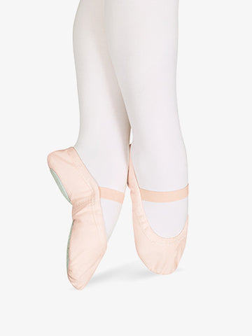 "Sansha Child ""Star Split"" Canvas Split-Sole Ballet Shoes"