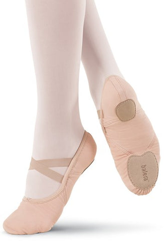 Balera STRETCH CANVAS BALLET SHOE - ADULT SIZE