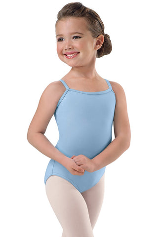 GIRLS COTTON CAMISOLE LEOTARD - KIROVA UNIFORM
