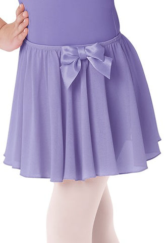 KIDS' BOW ACCENT SKIRT