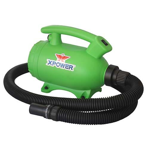 XPOWER B-55 Home Dryer for DIY Dog Drying Green