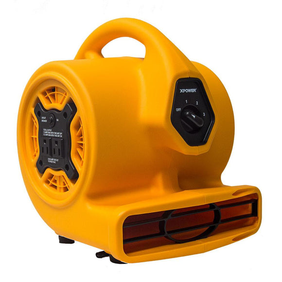 XPOWER P-130A Compact Mini Air Mover 1/5 HP