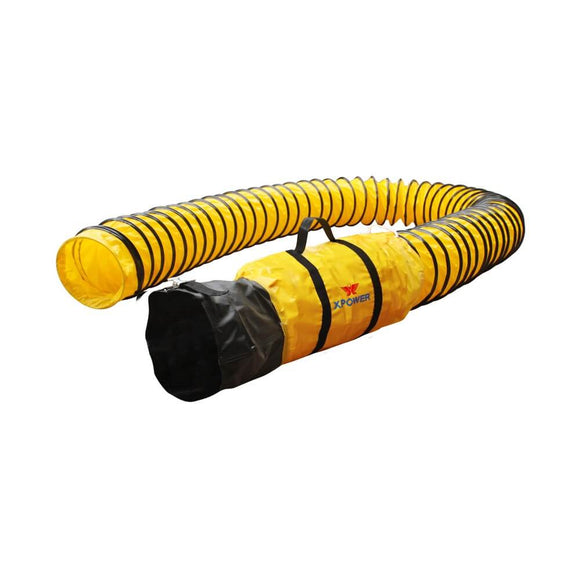 XPOWER 12DH25 Flexible Ventilation PVC Ducting Hose