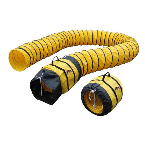 XPOWER 16DH25 Flexible Ventilation PVC Duct Hose (16 in x 25 Ft)