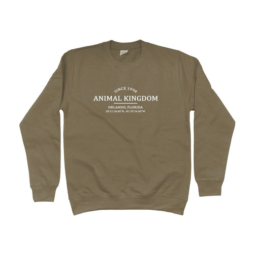 Animal Kingdom Location Unisex Sweatshirt