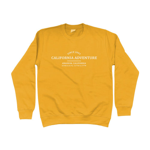 California Adventure Location Unisex Sweatshirt
