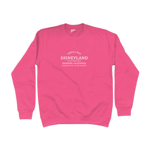 Disneyland Location Unisex Sweatshirt