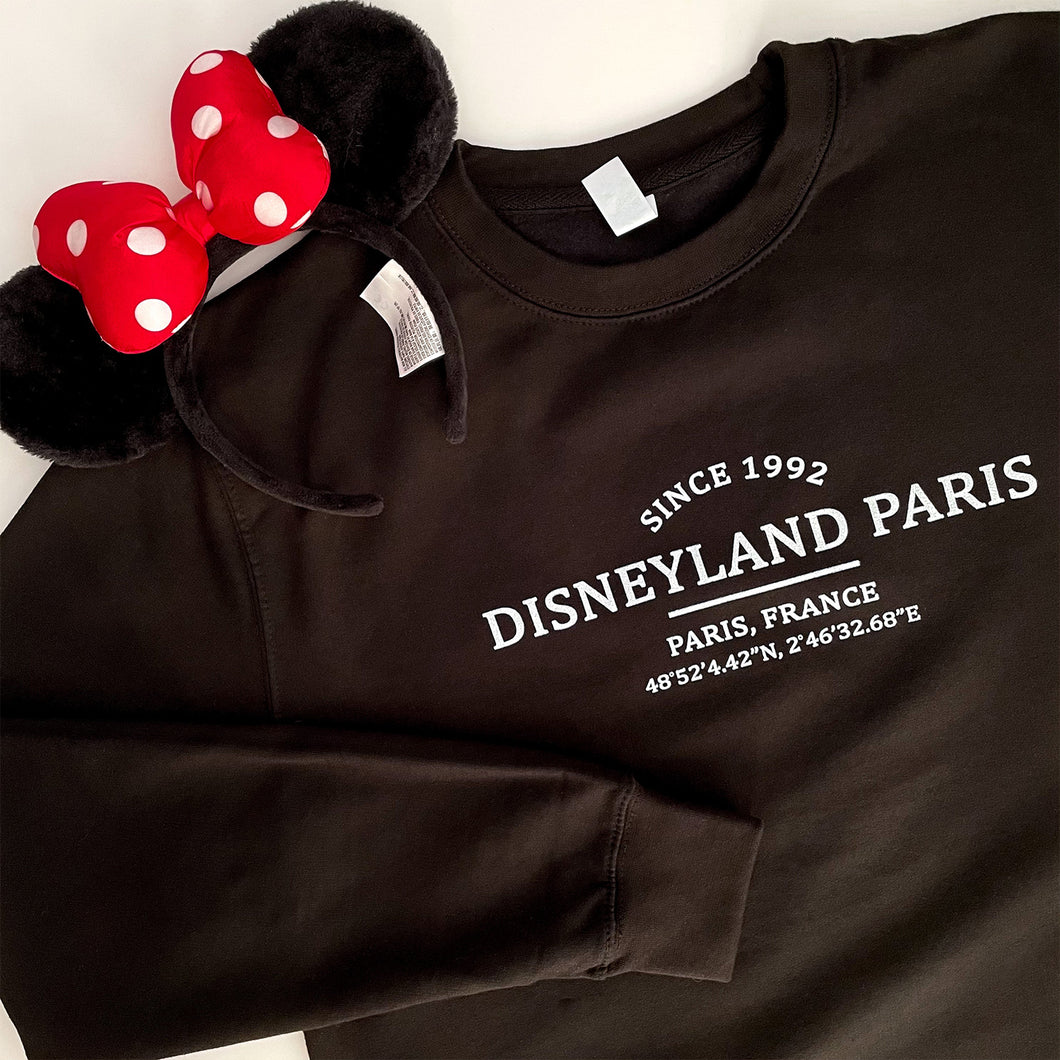 Disneyland Paris Location Unisex Sweatshirt
