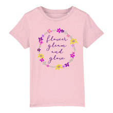 Load image into Gallery viewer, Flower Gleam & Glow Children's Tee