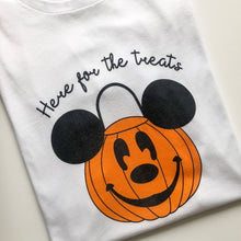 Load image into Gallery viewer, Here For The Treats Children's Tee
