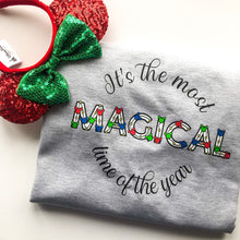 Load image into Gallery viewer, It's The Most Magical Time Of The Year Unisex Sweatshirt