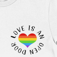 Load image into Gallery viewer, Love Is An Open Door Unisex Tee