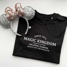 Load image into Gallery viewer, Magic Kingdom Location Unisex Tee