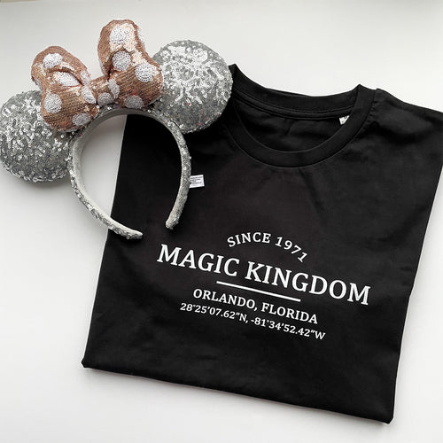 Magic Kingdom Location Unisex Tee