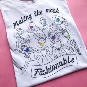 Making The Mask Fashionable Unisex Tee