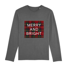Load image into Gallery viewer, Merry And Bright Long Sleeve Unisex Tee