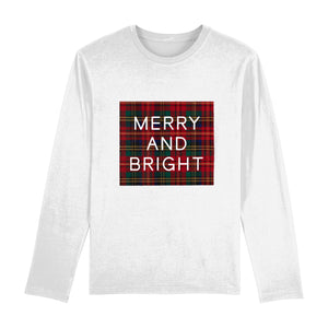 Merry And Bright Long Sleeve Unisex Tee