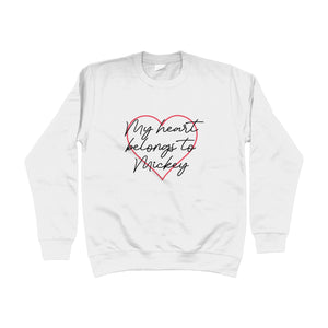 My Heart Belongs To Mickey Unisex Sweatshirt