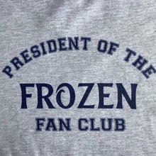 Load image into Gallery viewer, President Of The Frozen Fan Club T-Shirt Dress