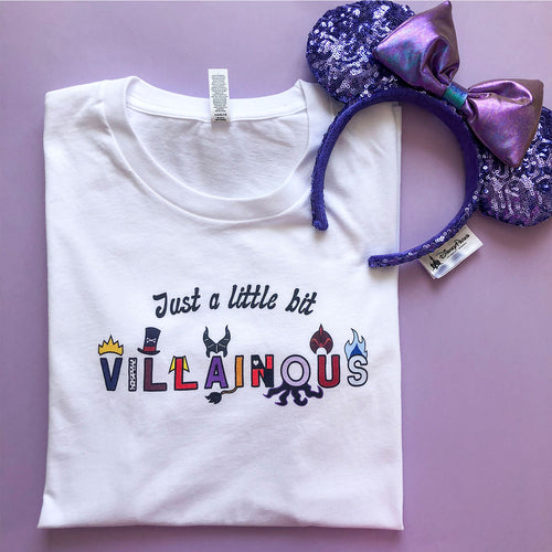 Just A Little Bit Villainous Unisex Tee