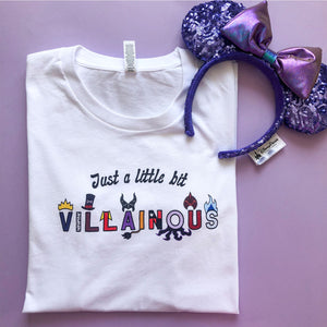 Just A Little Bit Villainous T-Shirt Dress