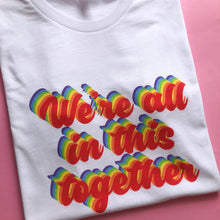Load image into Gallery viewer, We're All In This Together Charity Children's Tee