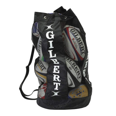 Gilbert Rugby Direct Rugby Bags Black Gilbert Breathable Rugby Ball Bag