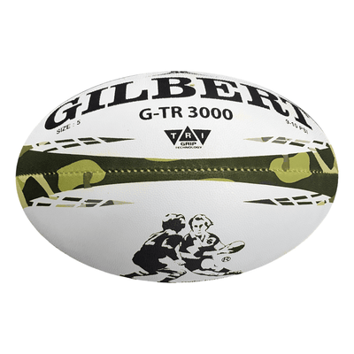 Gilbert Rugby Direct Rugby Balls Plus 5 - Standard Gilbert G-TR3000 Camo Rugby Training Ball