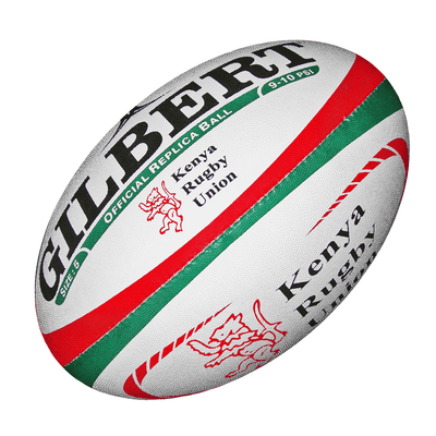 Gilbert Rugby Direct Rugby Balls Plus 5 - Standard Gilbert Kenya Replica Rugby Ball