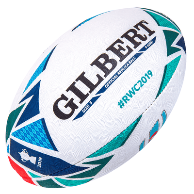 Gilbert Rugby Direct Rugby Balls Plus 5 - Standard Gilbert Rugby World Cup 2019 Replica Ball