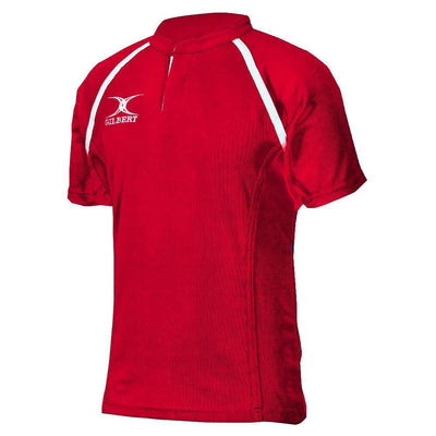 Gilbert Rugby Direct Rugby Jerseys Scarlet / 2X-Large Gilbert Xact II Rugby Jersey
