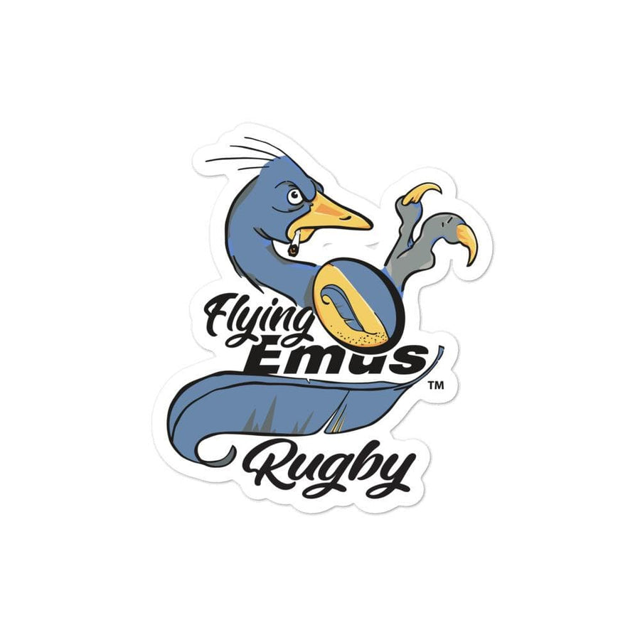 Flying Emus Rugby Stickers
