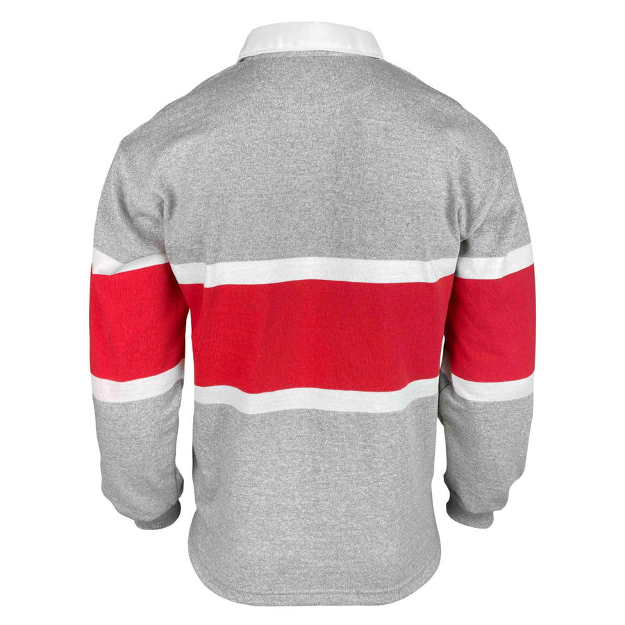 Japan Grey Stripe Rugby Jersey