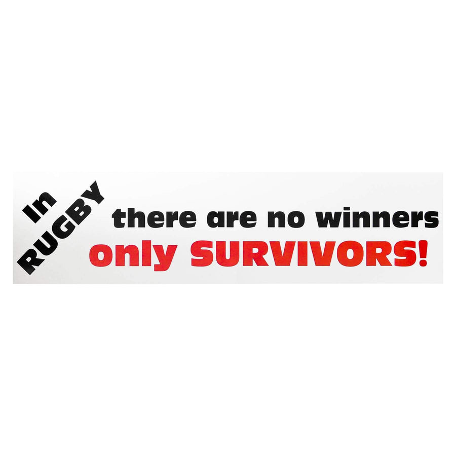 Rugby Survivors Bumper Sticker