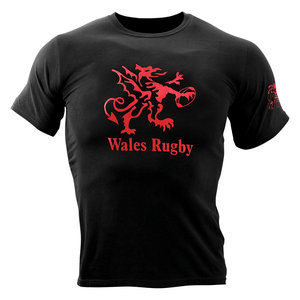 Wales Rugby Logo T-Shirt