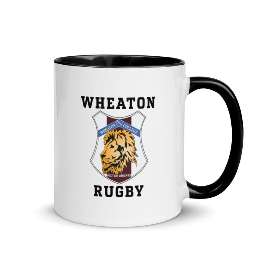 Wheaton Rugby Mug with Color Inside