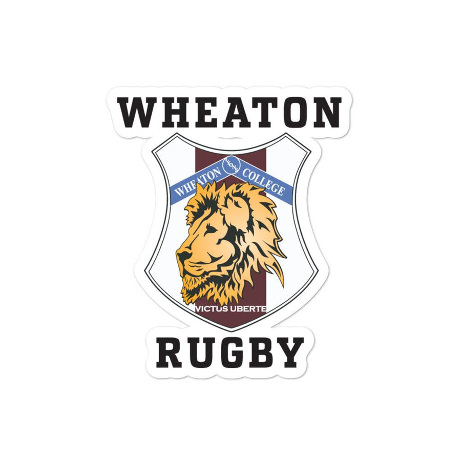 Wheaton Rugby Stickers