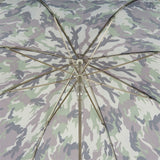 Camouflage Umbrella with Skull Handle