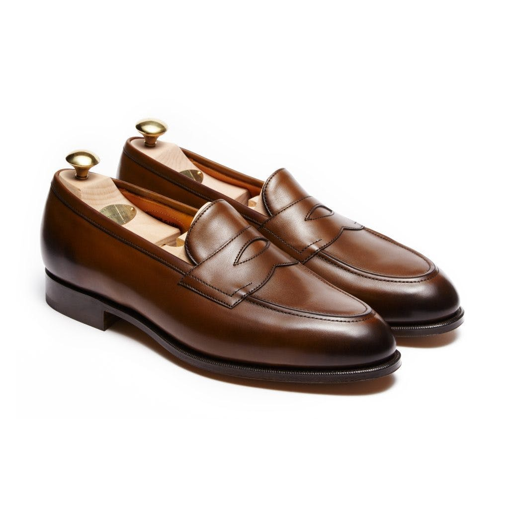 Edward Green Piccadilly 184E - Dark Oak Antique Calf Leather