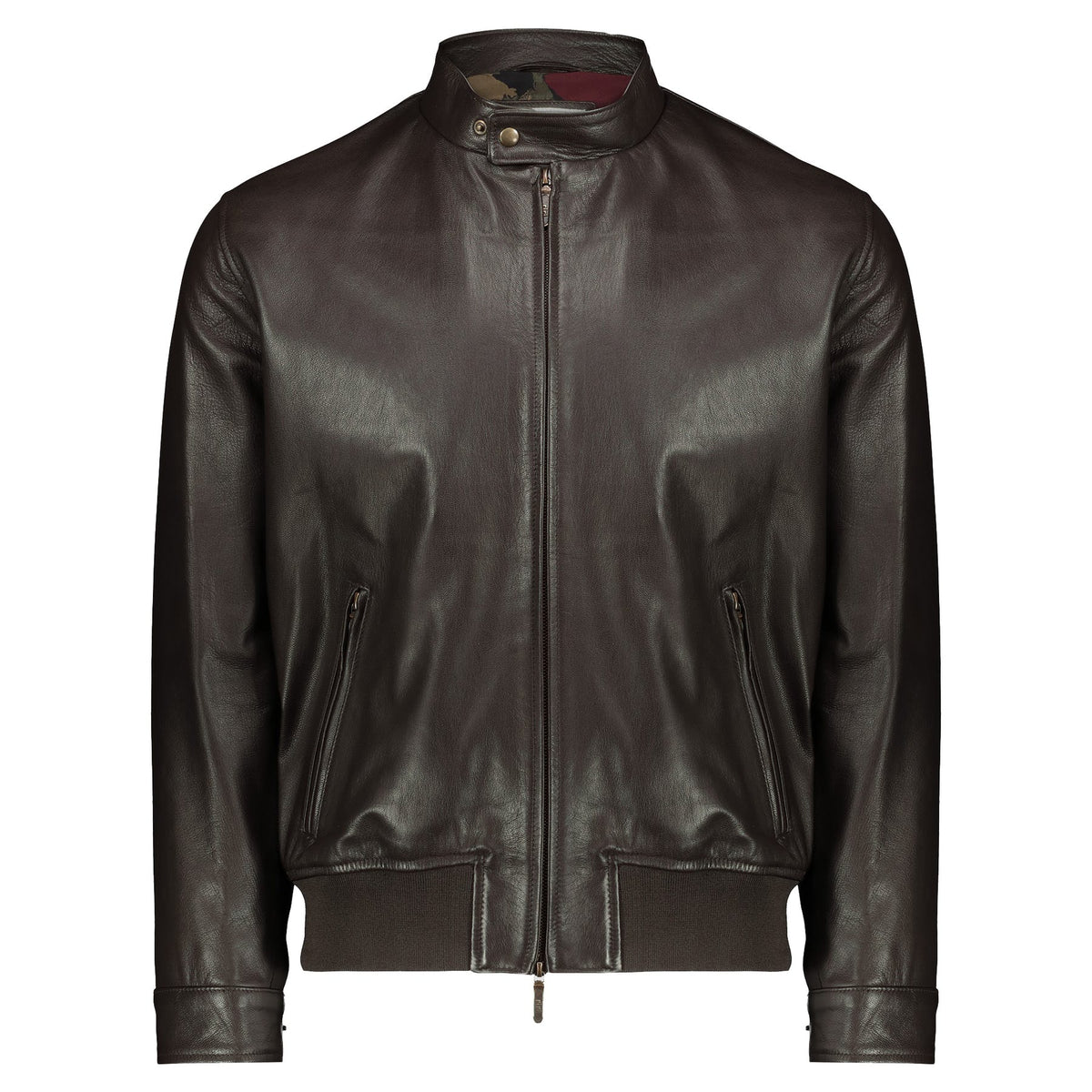 Atacama Cruiser Peter Natural Goatskin Brown Jacket