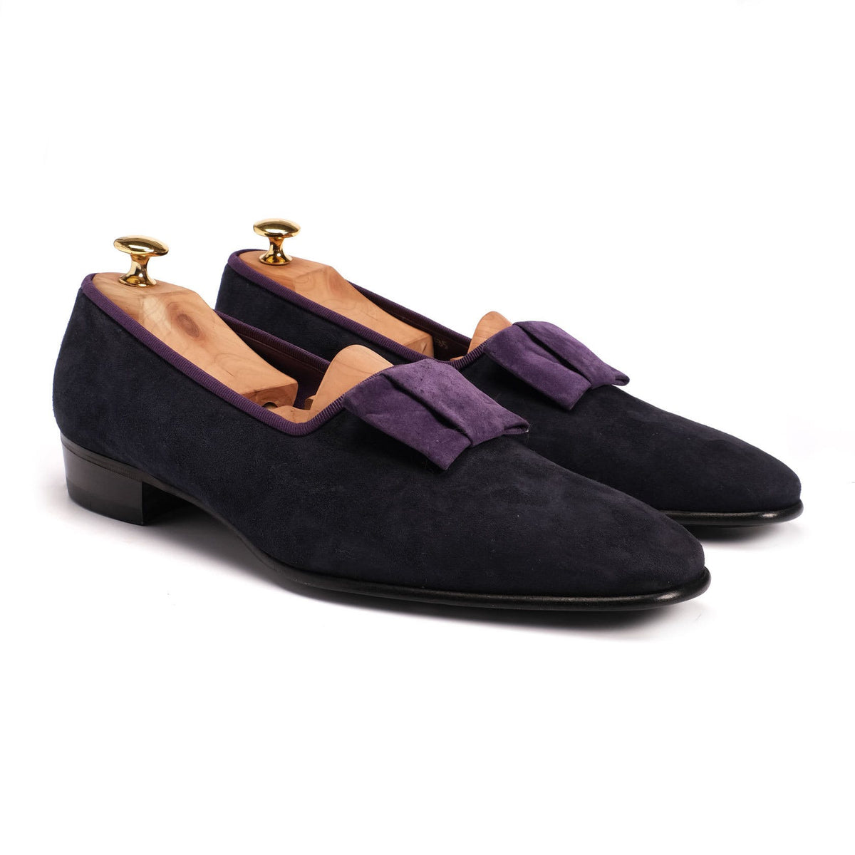 Evening Slipper - Suede