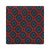 CUBE FLORAL HANDPRINTED SILK – RED MIX